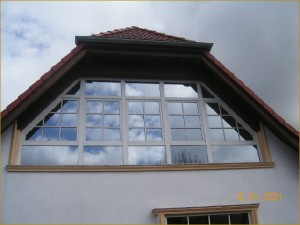 Individuelle Fensterfront
